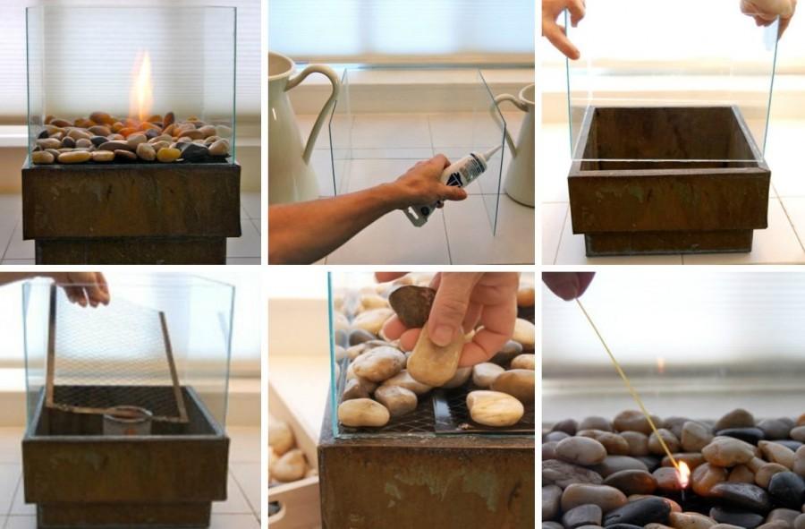 биокамин своими руками пошаговая инструкция фото