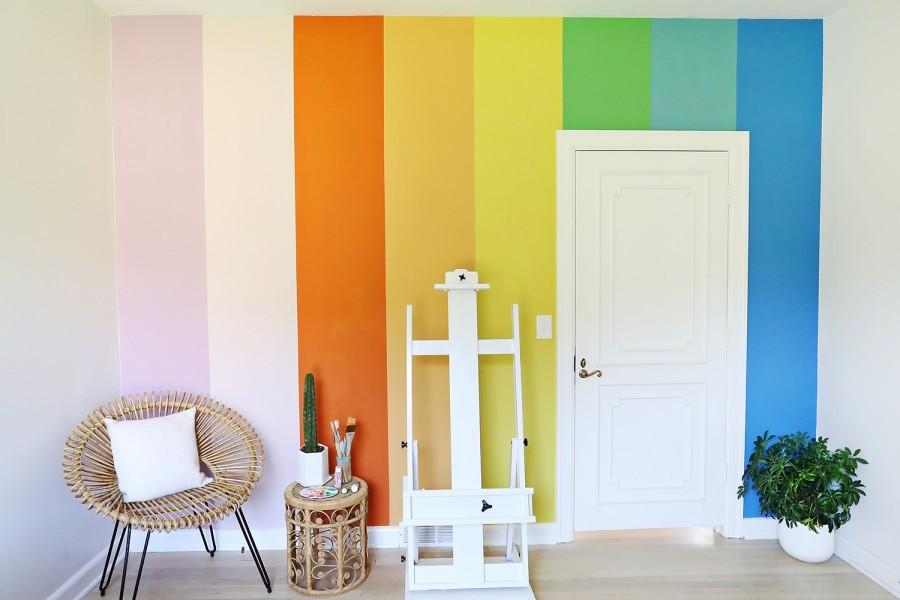 качественная акриловая краска для стен