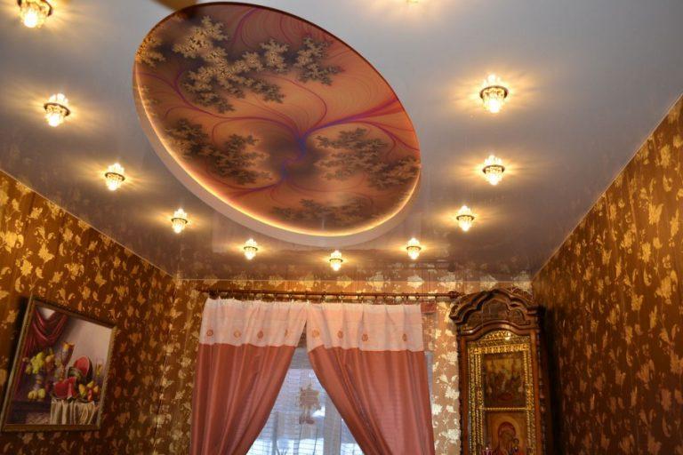 Натяжные потолки декор отзывы
