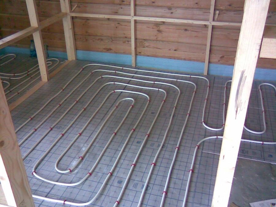 Теплый пол от отопления - 95 фото технологии укладки и подкл.