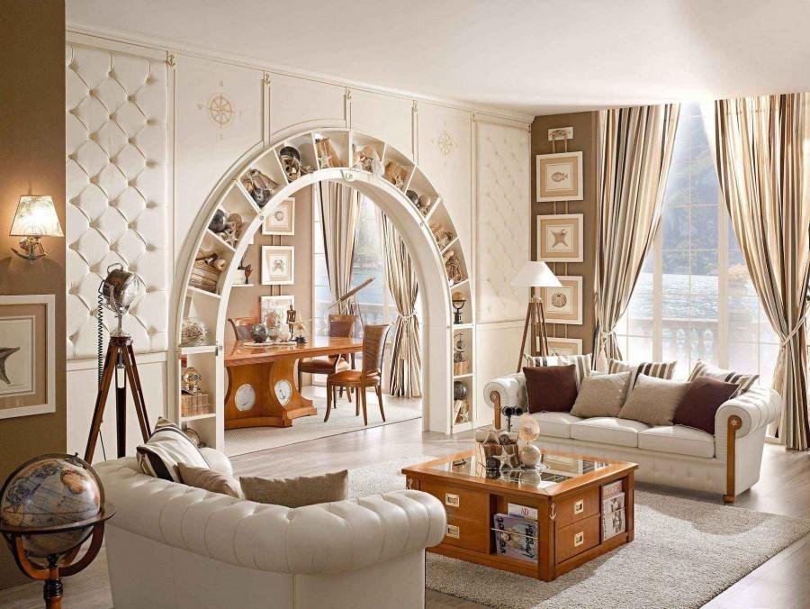 Арки Из Гипсокартона ( 210 Фото): Красивый Дизайн Интерьеров