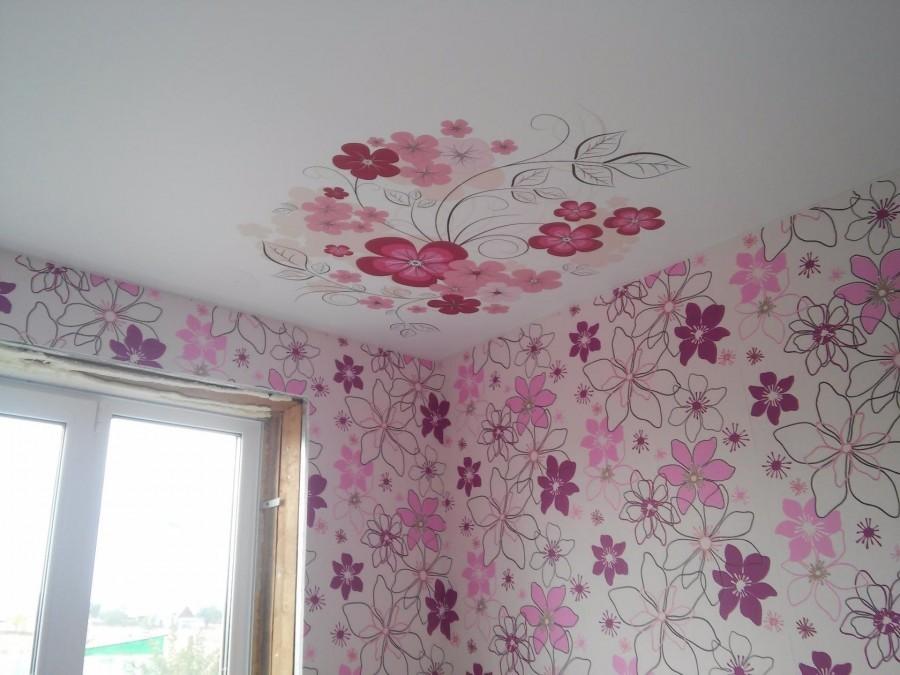 Чем красить подвесной потолок