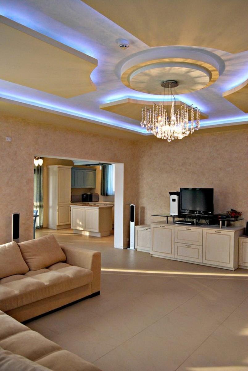 частности, странице подвесные потолки из гипсокартона фото для зала если
