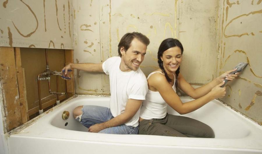 Ремонт ванной комнаты и туалета фото интересных решений