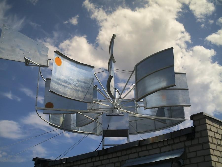 самодельные ветряные электростанции